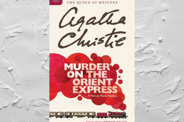 Agatha Christie Mystery Books Murder on the Orient Express
