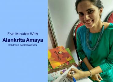 5 Minutes with Illustrator Alankrita Amaya