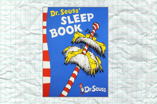 Sleep Book by author Dr Seuss