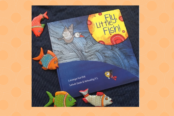 fly little fish book