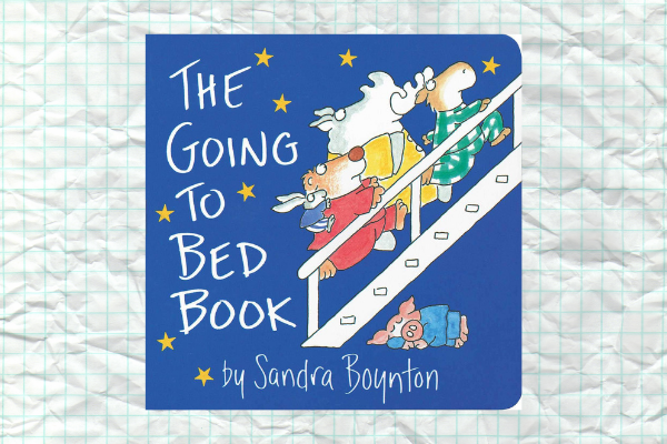 The Going to Bed Book by author Sandra Boynton
