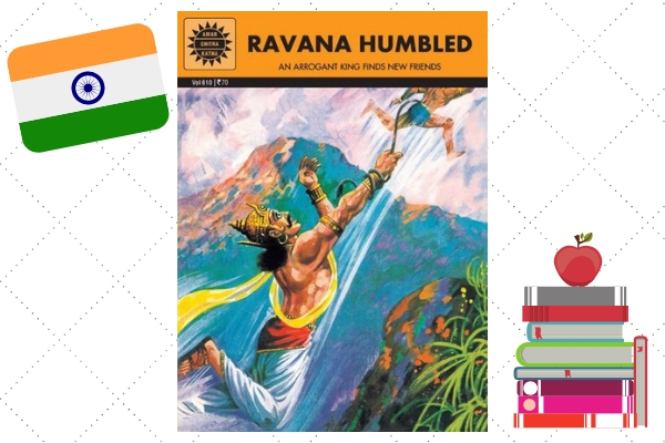 Ravana Humbled By Amar Chitra Katha
