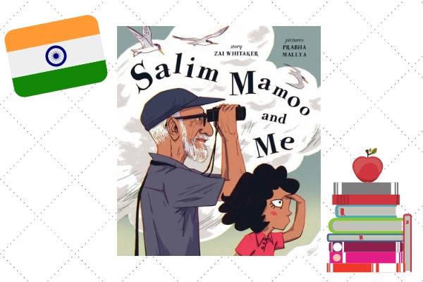 indian heroes and role models Salim Mamoo And Me by Zai Whitaker