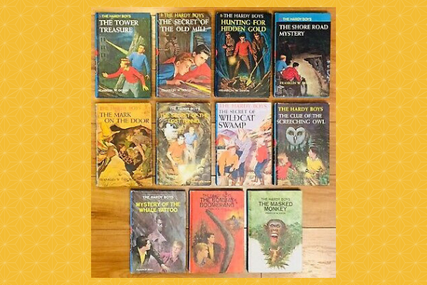 must-read mystery novels for kids Hardy Boys