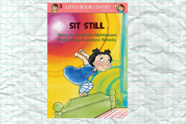 Bed time stories Sit Still by author Karishma Mahbubani