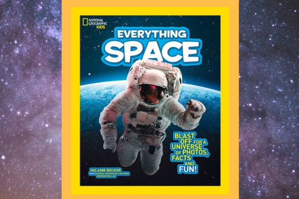 space books for kids national geographic everything space