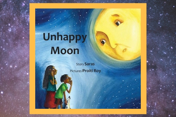 space books for kids unhappy moon