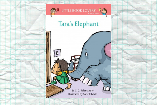 bedtime stories for kids Taras Elephant by author CG Salamander