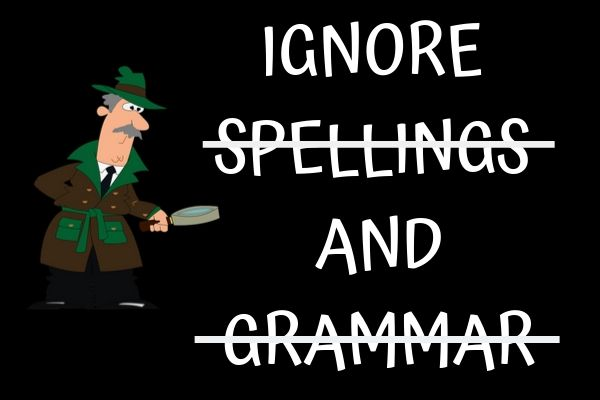 Story Writing for Kids with Dyslexia ignore spellings grammer