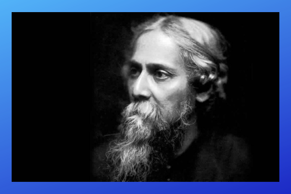 Indian Nobel Prize Winner Rabindranath Tagore