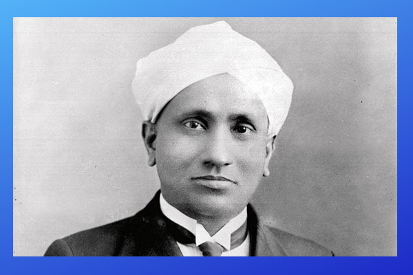 Indian Nobel prize winner CV Raman