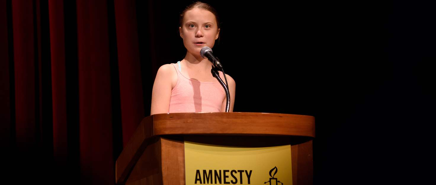 Greta Thunberg Climate crusader