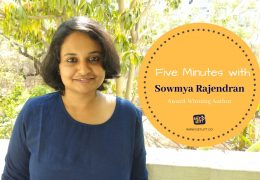 Five Minutes with Award-Winning Author Sowmya Rajendran