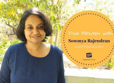 Five Minutes with Award-Winning Author Sowmya Rajendran