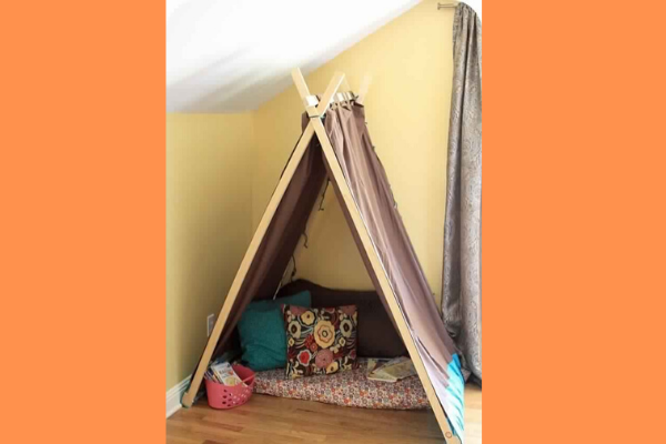 reading corner for kids Get a tent