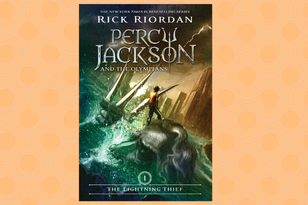 Percy Jackson series author Rick Riordan