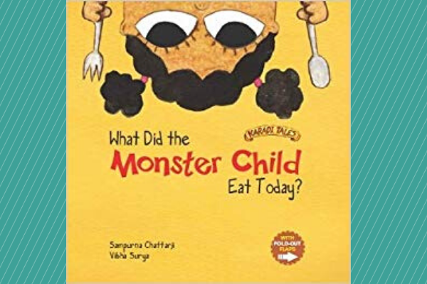 What did the Monster Child Eat Today Picture Books For Children