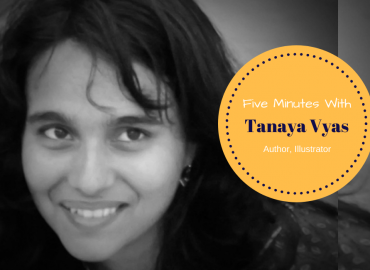 Five Mins With Children's Book Illustrator Tanaya Vyas