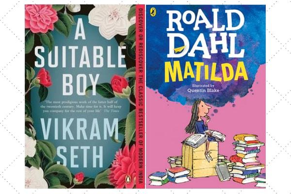 Vikram sheth A Suitable Boy and Roald Dahl's Matilda