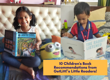 10 Children's Book Recommendations from GetLitt!'s Little Readers!