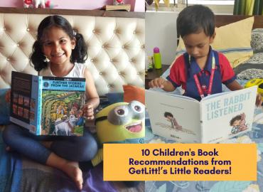 10 Children's Book Recommendations from GetLitt!'s Little Readers!